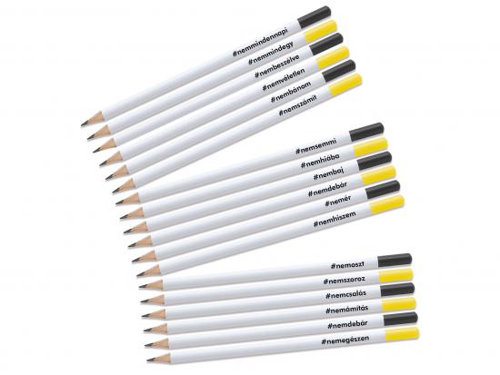 Kreatív ceruza - #NEMcerka - 18 darabos szett