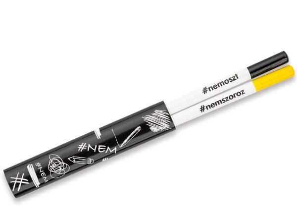 Kreatív ceruza - #NEMcerka - ceruzapár
