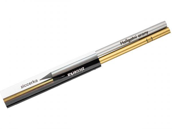 Kreatív ceruza - ziccerka - Hallgatni arany