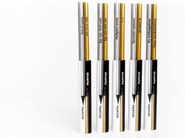 Kreatív ceruza - ziccerka - teljes kollekció